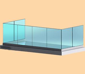 شیشه بالکنی