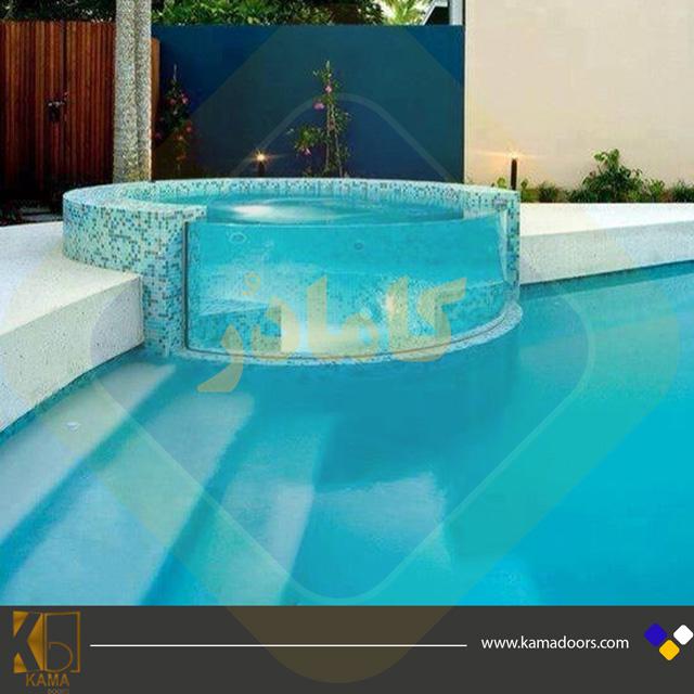 جکوزی-شیشه-ای