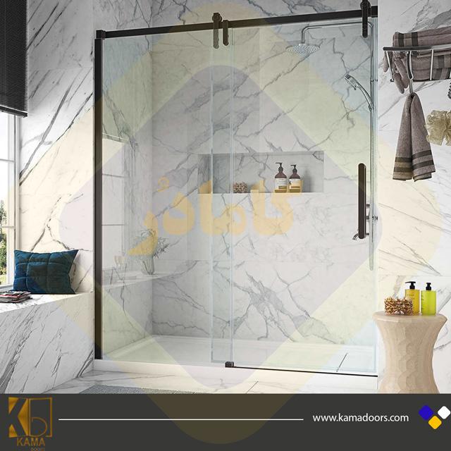 شیشه-حمام-فریم-دار