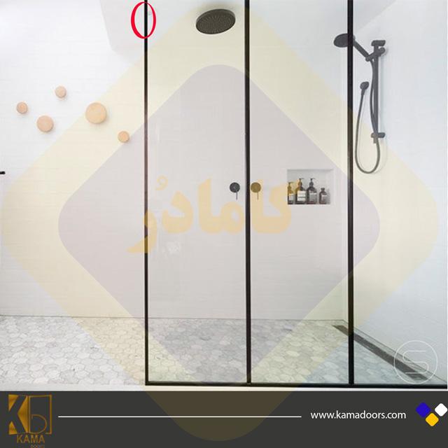 شیشه-حمام-قاب-دار