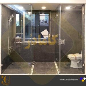 پارتیشن-حمام-شیشه-ای