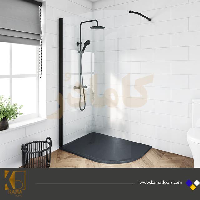 پارتیشن-شیشه-ای-توالت-منحنی