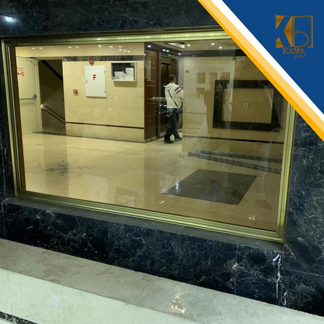 شیشه-سکوریت-لابی-در-یوسف-آباد