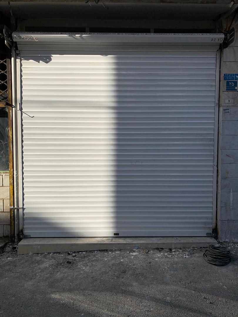 کرکره برقی مغازه
